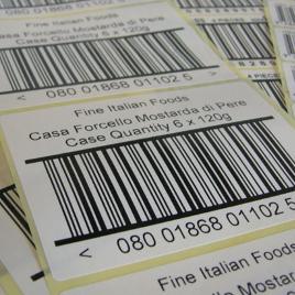 Печать штрих-кода на этикетке