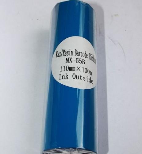 Риббон синий Wax/Resin 110 мм x 100 м