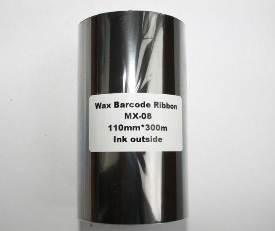Риббон Wax 110 мм x 300 м, втулка Ø26 мм, черный