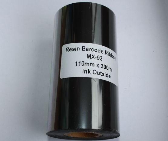 Риббон Resin 110 мм x 300 м, втулка Ø26 мм, черный