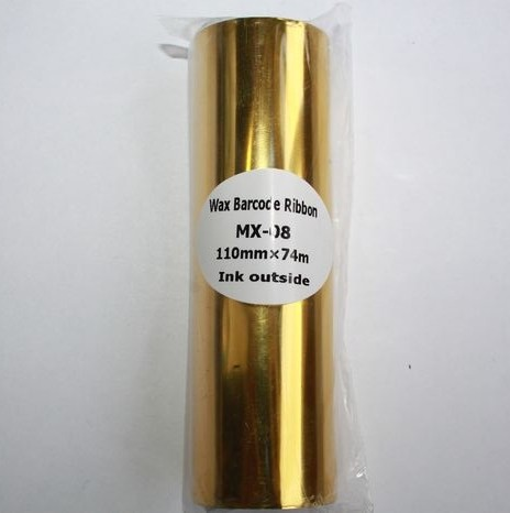 Риббон Wax 110 мм x 74 м, черный