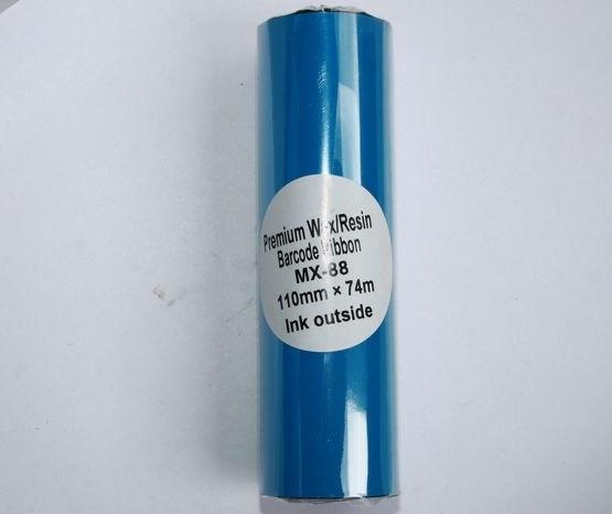Риббон Wax/Resin Premium 110 мм x 74 м, черный