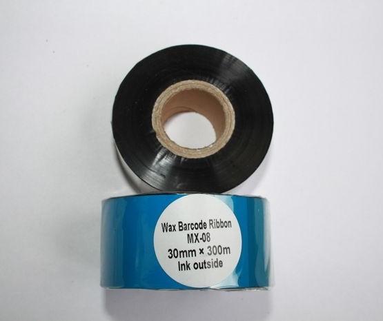 Риббон Wax 30 мм x 300 м, втулка Ø26 мм, черный