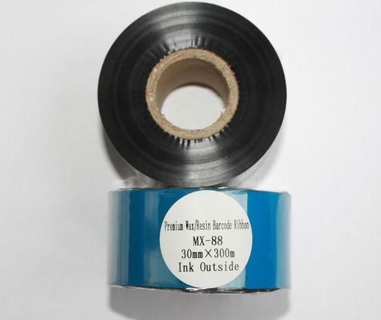 Риббон Wax/Resin Premium 30 мм x 300 м, втулка Ø26 мм, черный