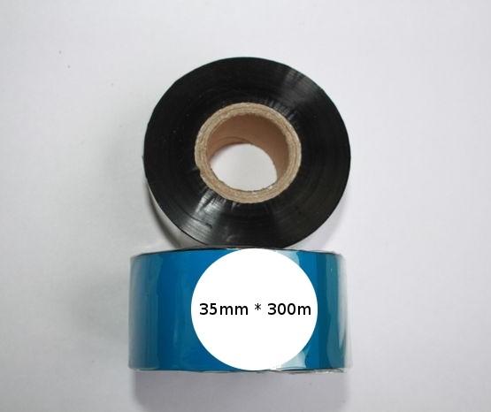Риббон Wax 35 мм x 300 м, втулка Ø26 мм, черный