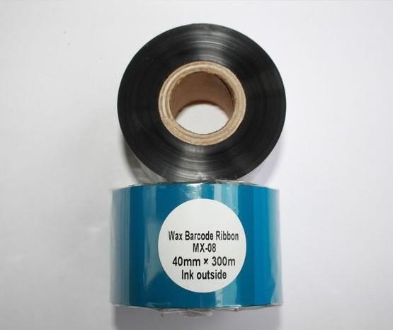 Риббон Wax 40 мм x 300 м, втулка Ø26 мм, черный