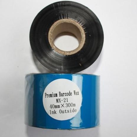 Риббон Wax Premium 40 мм x 300 м, втулка Ø26 мм, черный