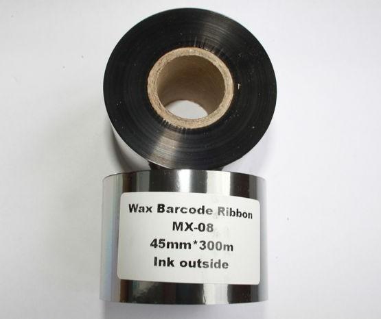 Риббон Wax 45 мм x 300 м, втулка Ø26 мм, черный