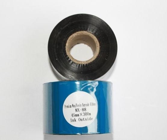 Риббон Wax/Resin Premium 45 мм x 300 м, втулка Ø26 мм, черный