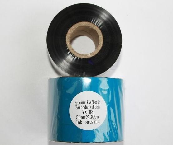 Риббон Wax/Resin Premium 50 мм x 300 м, втулка Ø26 мм, черный