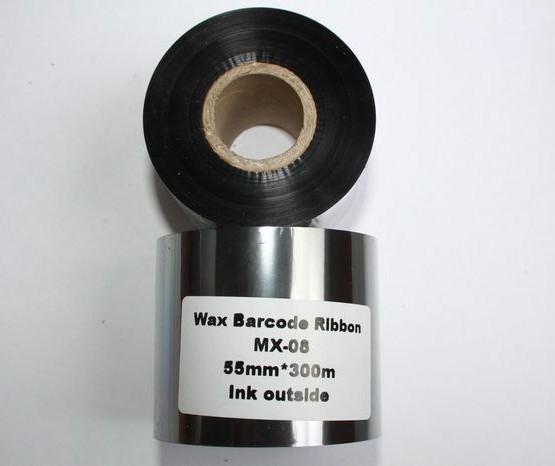 Риббон Wax 55 мм x 300 м, втулка Ø26 мм, черный
