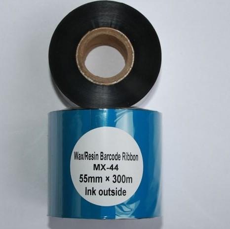 Риббон Wax/Resin 55 мм x 300 м, втулка Ø26 мм, черный
