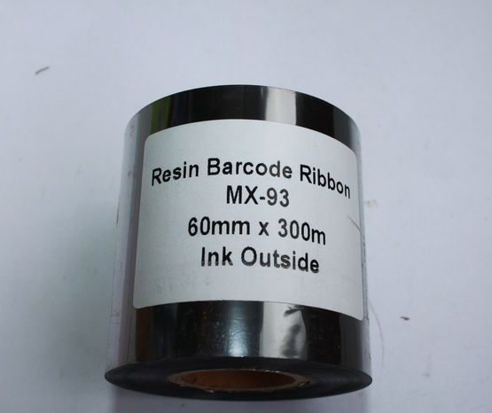 Риббон Resin 60 мм x 300 м, втулка Ø26 мм, черный