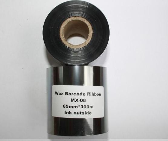 Риббон Wax 65 мм x 300 м, втулка Ø26 мм, черный
