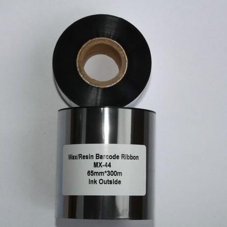 Риббон Wax/Resin 65 мм x 300 м, втулка Ø26 мм, черный