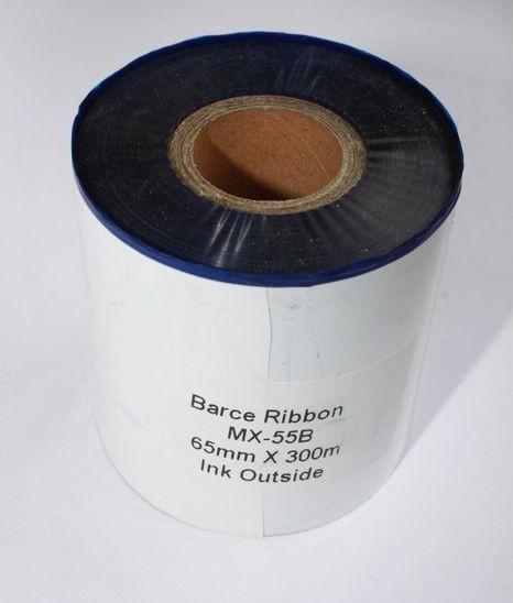Риббон синий Wax/Resin 65 мм x 300 м, втулка Ø26 мм