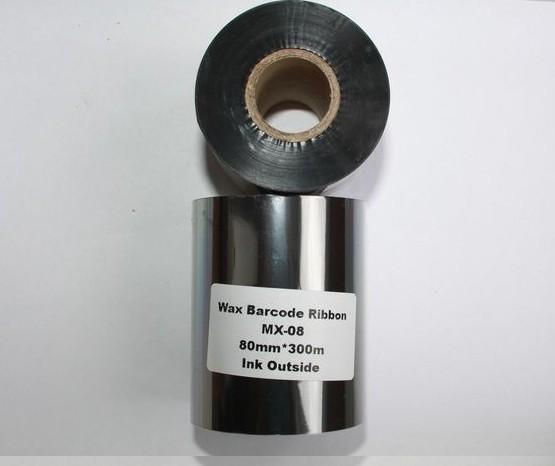 Риббон Wax 80 мм x 300 м, втулка Ø26 мм, черный