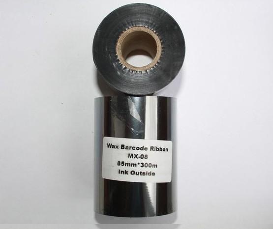 Риббон Wax 85 мм x 300 м, втулка Ø26 мм, черный