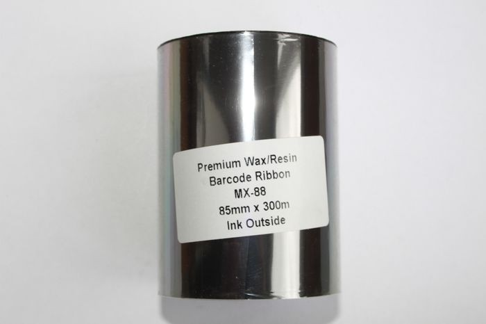 Риббон Wax/Resin Premium 85 мм x 300 м, втулка Ø26 мм, черный
