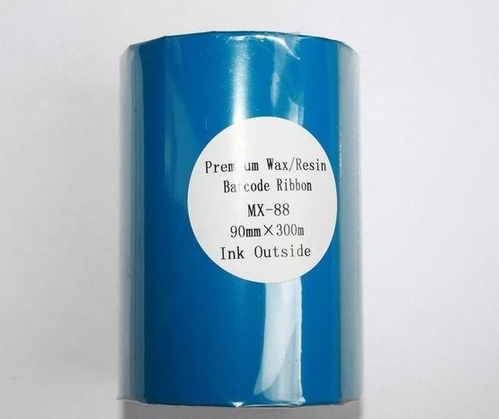 Риббон Wax/Resin Premium 90 мм x 300 м, втулка Ø26 мм, черный