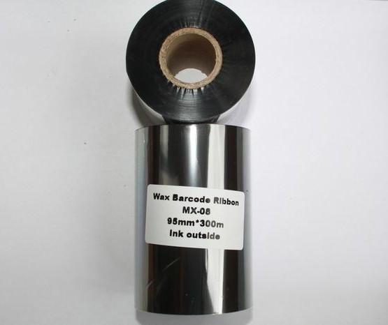 Риббон Wax 95 мм x 300 м, втулка Ø26 мм, черный