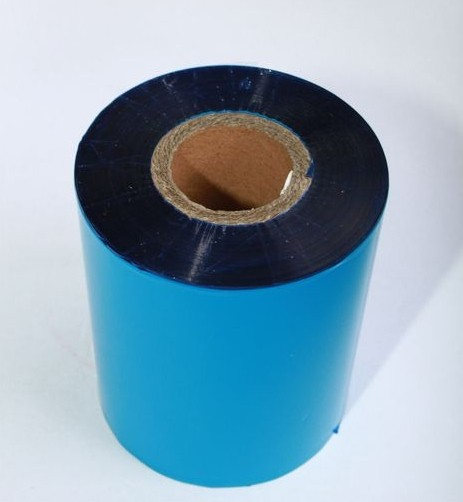 Риббон синий Wax/Resin 90 мм x 300 м, втулка Ø26 мм