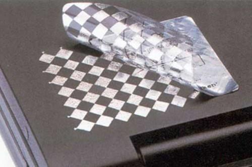 "Этикетка контроля вскрытия 24х14мм. VOID ""шахматка"""