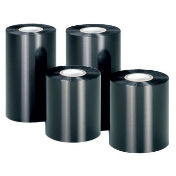 Риббон Wax Premium 105 мм x 300 м, втулка Ø26 мм, черный