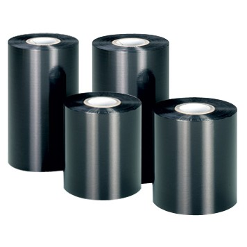 Риббон Wax Premium 80 мм x 74 м, черный