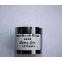 Риббон Resin 50 мм x 300 м, втулка Ø26 мм, черный